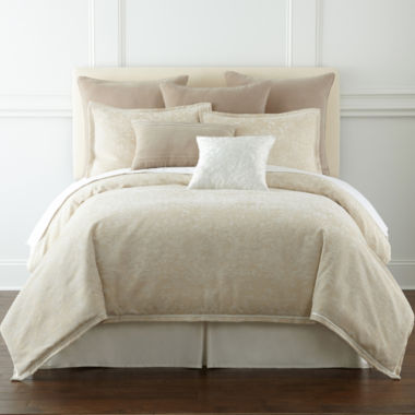 jcpenney.com | Royal Velvet® Preston 4-pc. Jacquard Comforter Set & Accessories