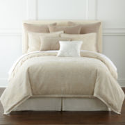 Royal Velvet® Preston 4-pc. Jacquard Comforter Set & Accessories