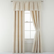 Royal Velvet® Preston Jacquard Curtain Panel Pair
