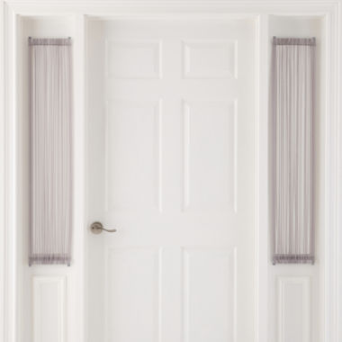 "jcpenney.com | MarthaWindow™ Voile Rod-Pocket 24x47""L Sidelight Panel"