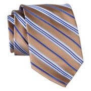 Stafford® Jade Stripe Silk Tie