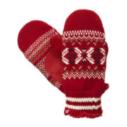 Isotoner® Snowflake Mittens