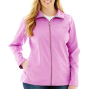 Columbia® Seize the Way Water-Resistant Softshell Jacket - Plus
