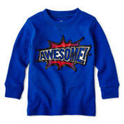 Okie Dokie® Long-Sleeve Thermal Tee – Boys newborn-24m