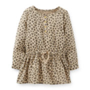 Carter's® Sateen Animal Print Tunic – Girls 5-6x