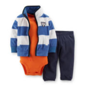 Carter's® 3-pc. Cardigan, Bodysuit and Pants Set – Boys newborn-24m