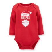Carter's® Long-Sleeve Christmas Bodysuit – Boys newborn-24m