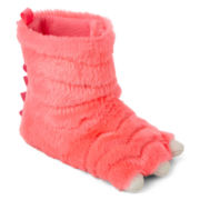 Carter's® Pink Monster Slippers - Girls