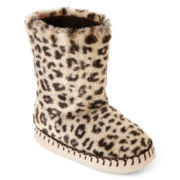 Carter's Cheetah-Print Slippers – Girls