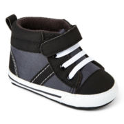Carter's® Black High Top Shoes – Boys 3m-12m