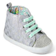 Carter's® Glitter Polka Dot High Top Shoes – Girls 3m-12m