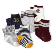 Carter's® 6-pk. Computer Socks - Boys newborn-24m