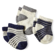 Carter's® 3-pk. Dress Socks – Boys newborn-24m