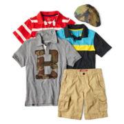 Arizona Cap, Polo or Cargo Shorts – Boys