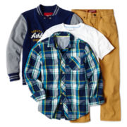 Arizona Varsity Jacket, Long-Sleeve Tee or Jeans – Boys