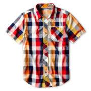 Arizona Short-Sleeve Woven Shirt - Boys 6-18 and Husky