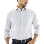 Claiborne® Long-Sleeve Plaid Shirt