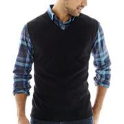 Claiborne® Argyle Vest
