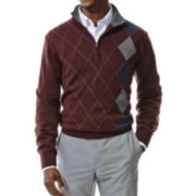 Haggar® Quarter-Zip Sweater
