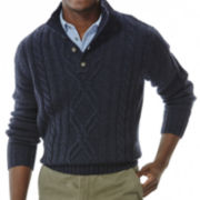 Haggar® Cable-Knit Sweater