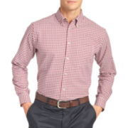Van Heusen® Long-Sleeve Southern Check Woven Shirt