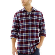 St. John's Bay® Long-Sleeve Brawny Shirt