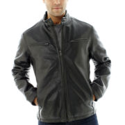 Excelled® Nappa Leather Racer Jacket