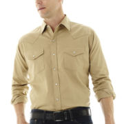 Ely Cattleman® Western Twill Shirt–Big & Tall
