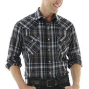 Ely Cattleman® Western Plaid Shirt–Big & Tall