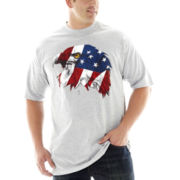 USA Eagle Graphic Tee–Big & Tall