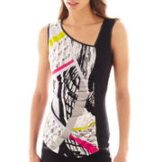 Bisou Bisou® Striped Tank Top