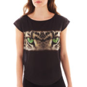 MNG by Mango® Short-Sleeve Jaguar Screen Tee
