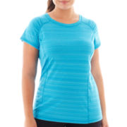 Xersion™ Short-Sleeve Barcode Tee - Plus