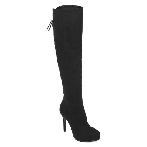 2 Lips Lifted Womens Over the Knee Boots