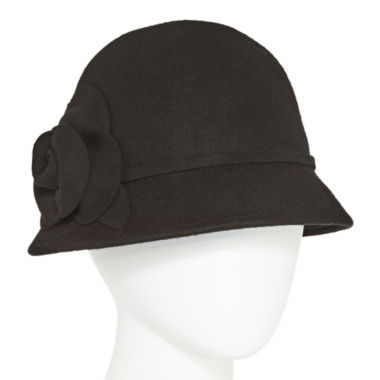 jcpenney.com | Scala Side Flower Cloche Hat
