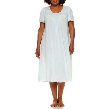 jcpenney.com | By Miss Elaine Short Sleeve Nightgown - Plus