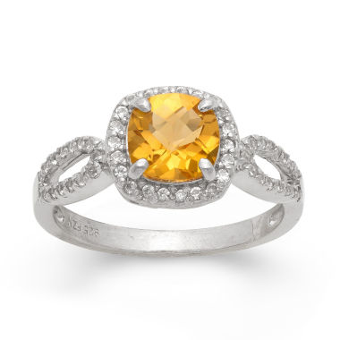 jcpenney.com | Yellow Citrine Cocktail Ring