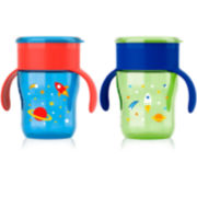 Philips Avent Boys Natural Drinking Cup - Set of 2