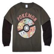 Pokemon Graphic Tee Boys 8-20