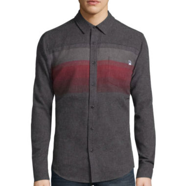 jcpenney.com | DC Shoes Co.® Long-Sleeve Horizon Woven Button-Down Shirt