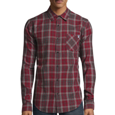 jcpenney.com | DC Shoes Co.® Long-Sleeve Cloud Woven Button-Down Shirt