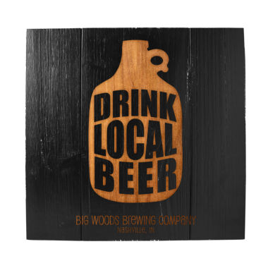 jcpenney.com | Cathy's Concepts Personalized Drink Local Growler Wood Sign