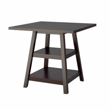 jcpenney.com | Bistro Counter Height Dining Table with Shelves
