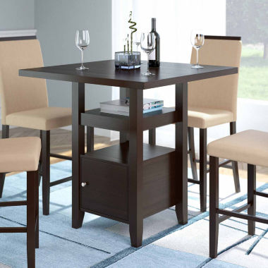 jcpenney.com | Bistro Counter Height Dining Table with Cabinet