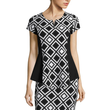 jcpenney.com | Alyx® Cap-Sleeve Top