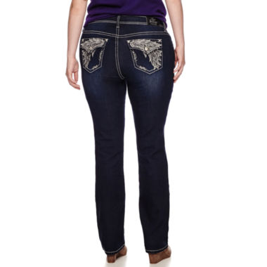 jcpenney.com | Love Indigo Bling Bootcut Jeans - Plus
