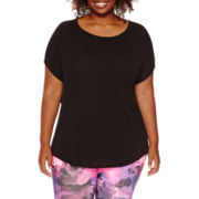 Xersion™ Studio Dolman-Sleeve Harmony Tee - Plus