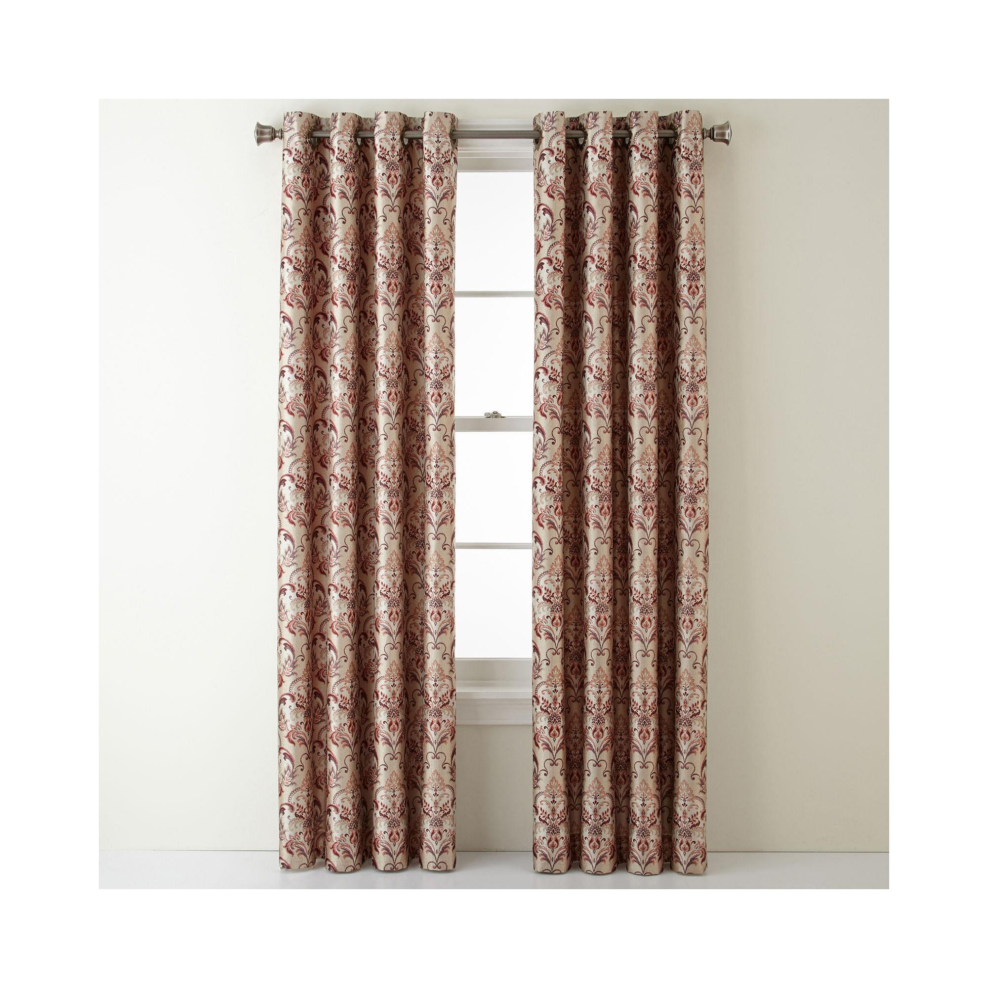 Upc 073104820034 Royal Velvet Blaine Blackout Grommet Top Curtain Panel