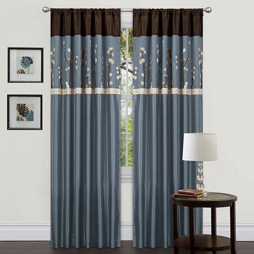 Cocoa Curtain Panel