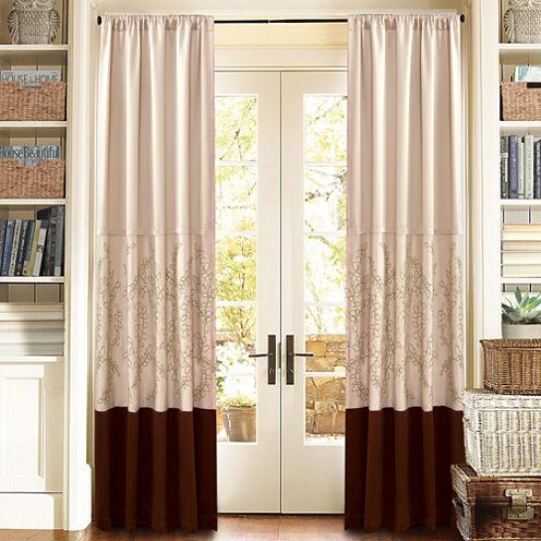Lush Decor Hester Curtain Panel